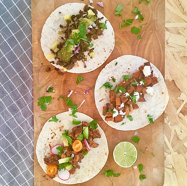 Soft taco's: drie soorten zachte taco's, zoals de echte Mexicanen ze eten. Welke wordt jouw favoriet?